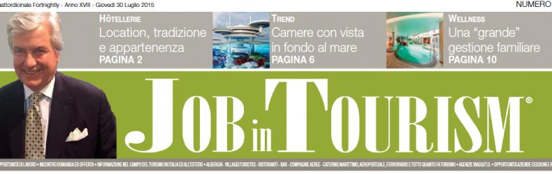 Job in Tourism – Camere con vista in fondo al mare